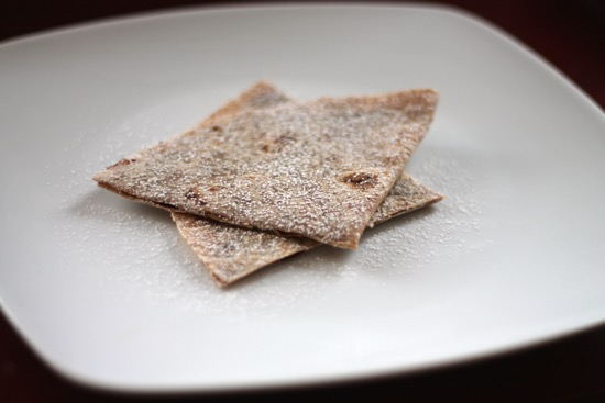 Chocolate Cinnamon Quesadilla