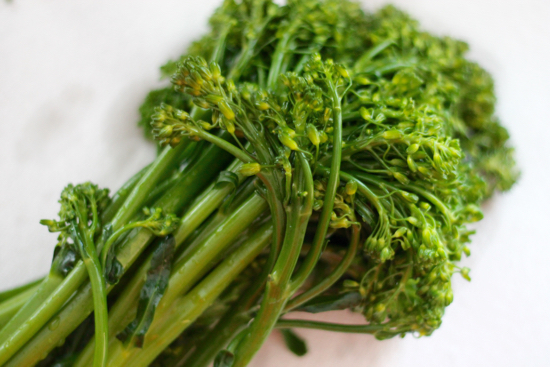 Broccolini with Garlic