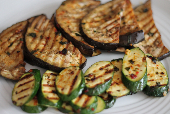 Grilled Vegetable And Goat Cheese Sandwiches Recipe — Dishmaps