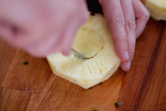 How to Cut a Pineapple - 6