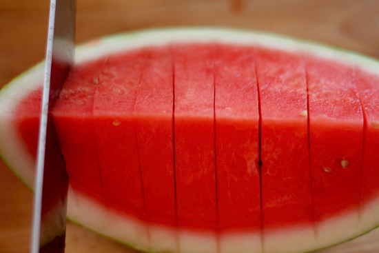 How to Cut a Watermelon - 4