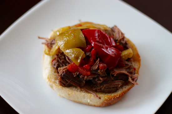Hot and Spicy Italian Beef