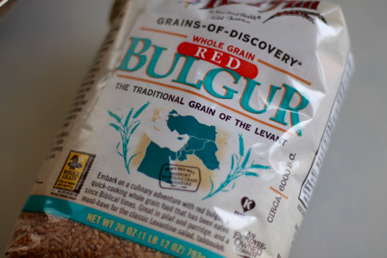 Bob's Red Mill Red Bulgur for Bulgur Salad | sarahnspice.com