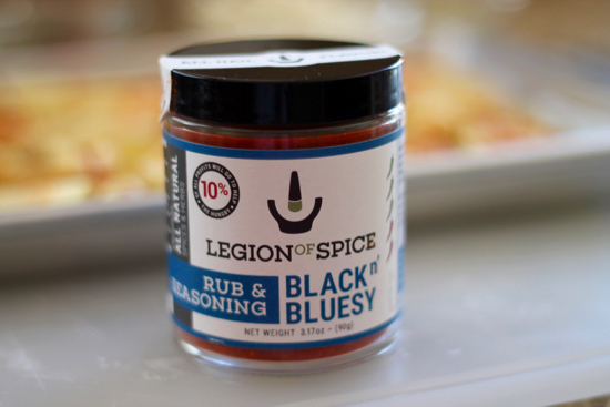 Black n Bluesy Seasoning for Spicy Turkey Burgers with Blue Cheese Gravy and Fries | sarahnspice.com