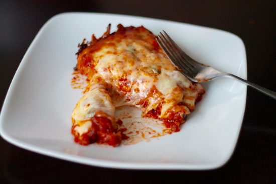 There's nothing like hearty and flavorful pan of lasagna. This Meat Lasagna is cheesy, gooey and made with fresh homemade pasta! | sarahnspice.com