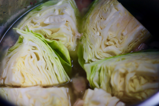 Kalua Pork and Cabbage in an Instant Pot is so easy! It just takes a few ingredients, melts in your mouth & tastes like it took hours to make! | sarahnspice.com